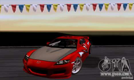 Mazda RX-8 Speed pour GTA San Andreas