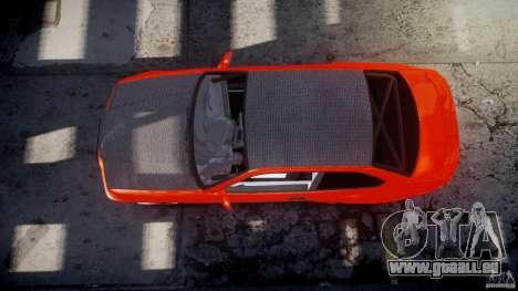 BMW E36 Alpina B8 pour GTA 4 est une vue de dessous