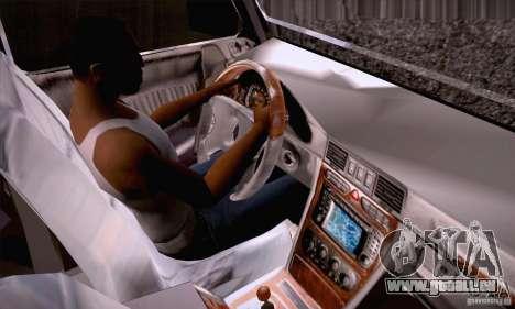 Mercedes-Benz Brabus G500 Dub Edition für GTA San Andreas Seitenansicht