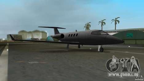 Shamal Plane für GTA Vice City linke Ansicht