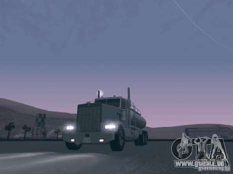 Kenworth Petrol Tanker pour GTA San Andreas