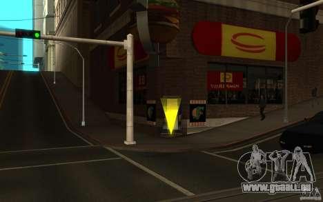 Pumper Nic Mod pour GTA San Andreas deuxième écran