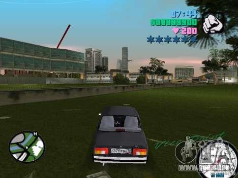 VAZ 2105 pour GTA Vice City sur la vue arrière gauche