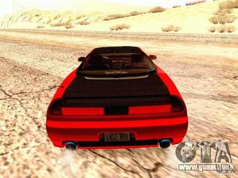 Acura NSX Stance Works für GTA San Andreas zurück linke Ansicht