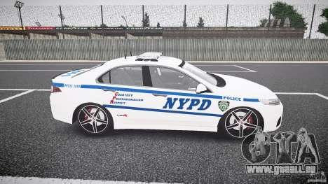 Honda Accord Type R NYPD (City Patrol 1090) ELS für GTA 4 Innenansicht