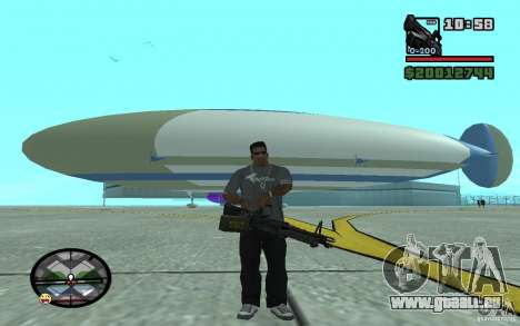 Grand dirigeable pour GTA San Andreas