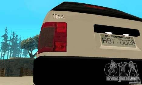 Fiat Tipo 2.0 16V 1995 pour GTA San Andreas vue de côté