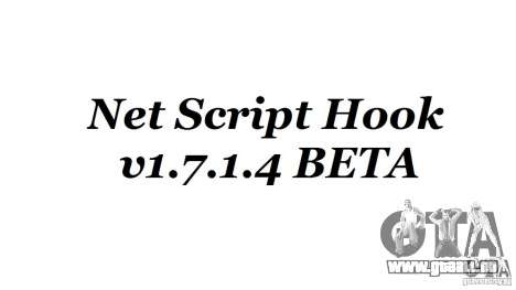 Net Script Hook v1.7.1.4 [Beta] für GTA 4