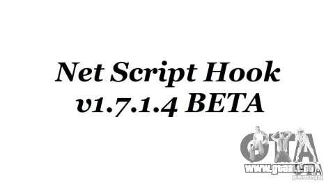 Net Script Hook v1.7.1.4 [Beta] pour GTA 4