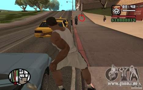 Lancer de couteaux pour GTA San Andreas