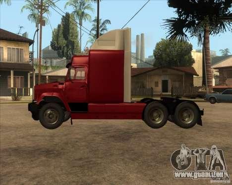 Super Zil v 2.0 pour GTA San Andreas laissé vue