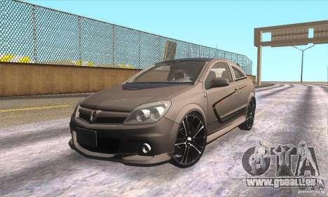 Opel Astra GTC DIM v1.0 für GTA San Andreas Innen