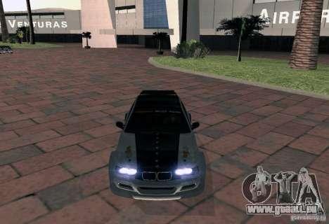 BMW M3 MyGame Drift Team für GTA San Andreas rechten Ansicht