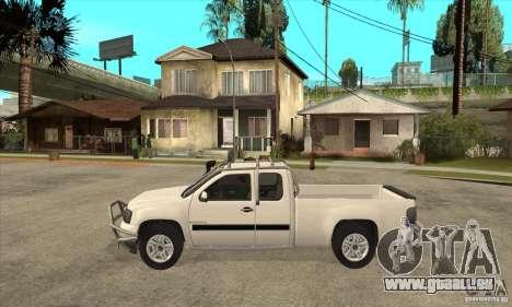 GMC Sierra pour GTA San Andreas laissé vue