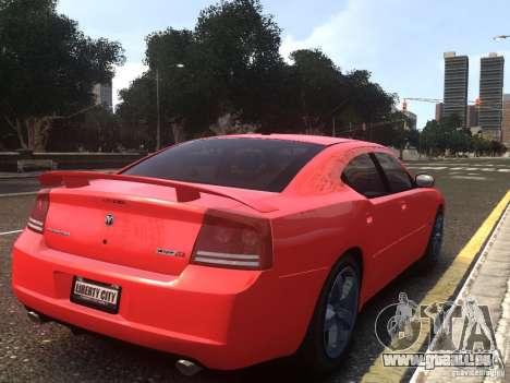 Dodge Charger SRT8 2006 pour GTA 4 est une gauche
