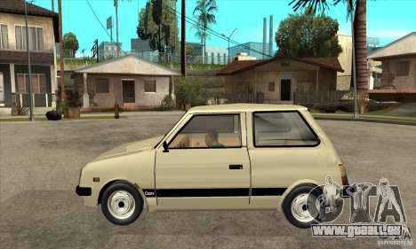 Daihatsu Cuore 1981 pour GTA San Andreas laissé vue
