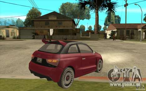Audi A1 Clubsport Quattro pour GTA San Andreas vue de droite