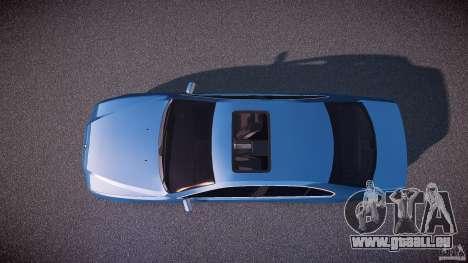 BMW 530I E39 e63 white wheels pour GTA 4 est un droit