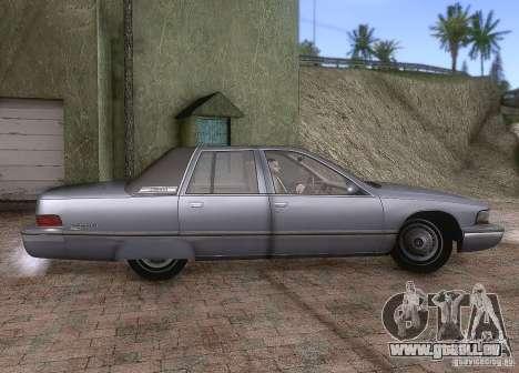 Buick Roadmaster 1996 für GTA San Andreas Rückansicht