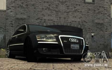Audi A8 L 6.0 Quattro (Transporter 3) für GTA 4 linke Ansicht