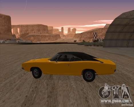 Dodge Charger RT 1968 Bullit clone für GTA San Andreas linke Ansicht