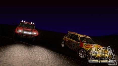 Seat Ibiza Rally für GTA San Andreas Räder