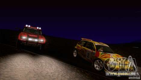 Seat Ibiza Rally pour GTA San Andreas roue