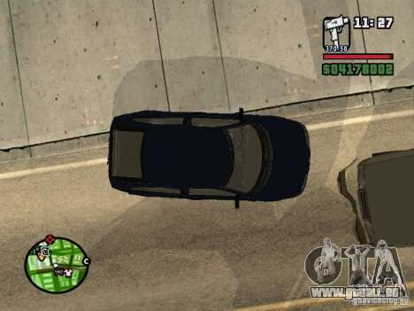 VAZ 21124 coupé pour GTA San Andreas sur la vue arrière gauche