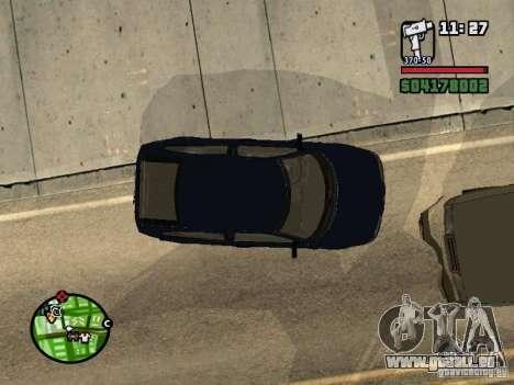VAZ 21124 Coupe für GTA San Andreas zurück linke Ansicht