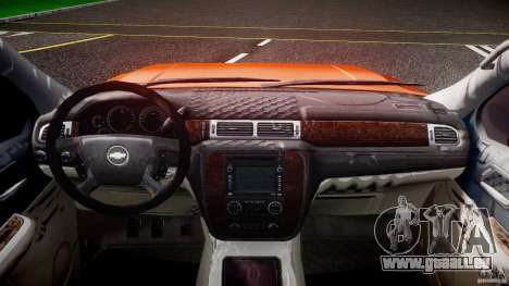 Chevrolet Silverado 2011 pour GTA 4 Vue arrière
