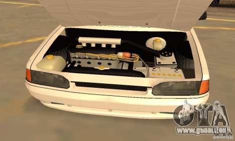 ВАЗ 2114 Dag Style pour GTA San Andreas vue intérieure