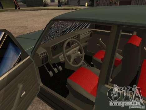 ВАЗ 21074 für GTA San Andreas Rückansicht