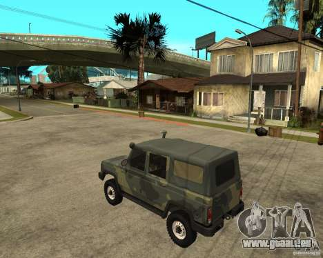UAZ-3172 für GTA San Andreas linke Ansicht