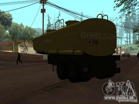 Tank PPC für GTA San Andreas linke Ansicht