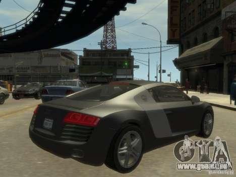 Audi R8 NFS Shift pour GTA 4 est un droit