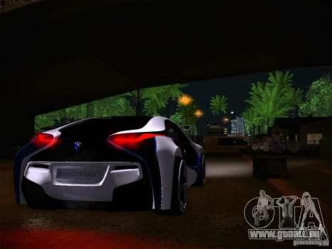 BMW Vision Efficient Dynamics I8 pour GTA San Andreas vue arrière
