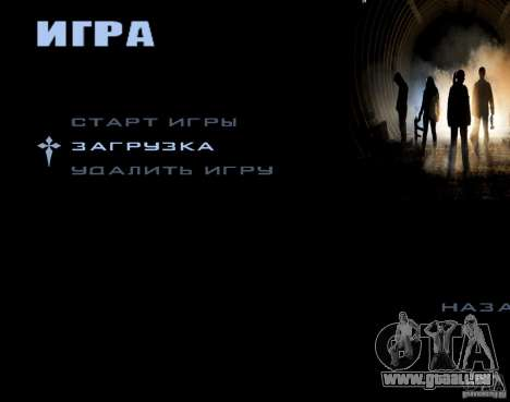 Écrans de chargement Metro 2033 pour GTA San Andreas quatrième écran