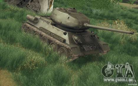 T-34-85 depuis le jeu COD World at War pour GTA San Andreas