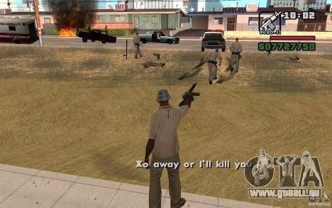La menace de pour GTA San Andreas deuxième écran