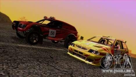 Seat Ibiza Rally für GTA San Andreas Innen