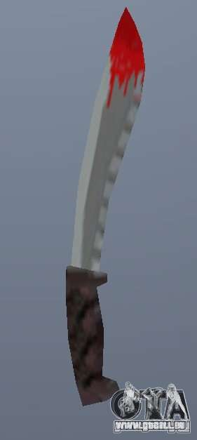 Neues Messer für GTA Vice City zweiten Screenshot