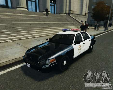 Ford Crown Victoria LAPD pour GTA 4