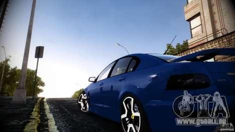 Holden HSV GTS pour GTA 4 est une gauche