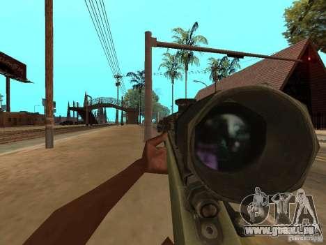 M40A3 für GTA San Andreas dritten Screenshot