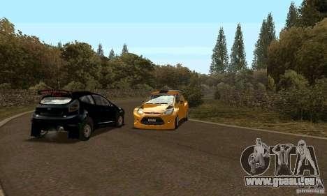 Ford Fiesta Rally pour GTA San Andreas vue de droite