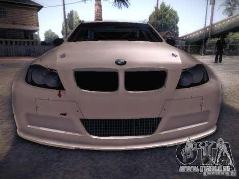 BMW 320SI Drift für GTA San Andreas obere Ansicht