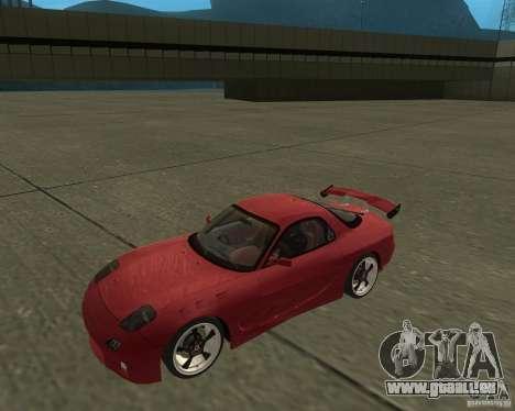 Mazda RX-7 weapon war für GTA San Andreas