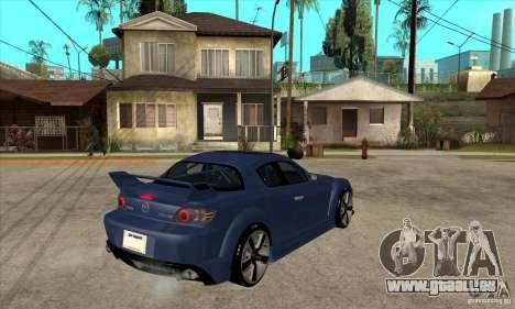 Mazda RX8 für GTA San Andreas rechten Ansicht