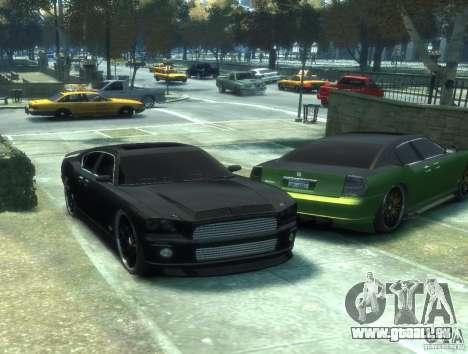 Civilian Buffalo DUB Edition v3.0 pour GTA 4 Vue arrière de la gauche