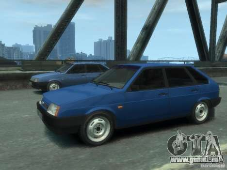 VAZ 21093i le tuning complet pour GTA 4